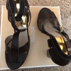 Brown Michael Kors sandals